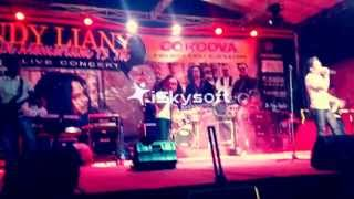 betuah band   live in concert andy liany  sanggupkah  2014