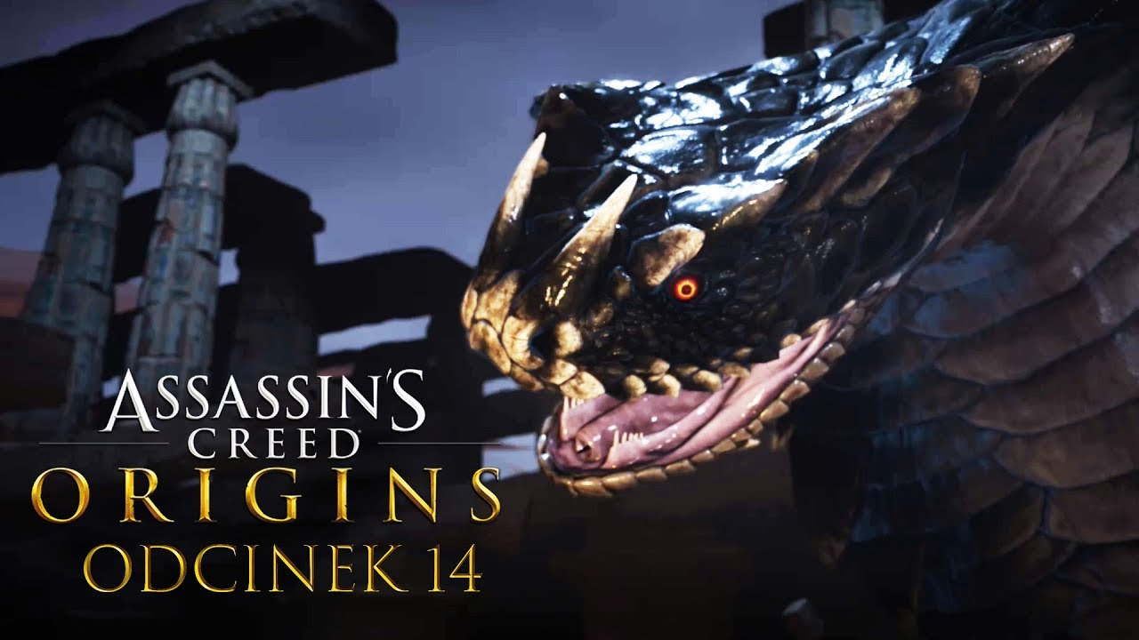Zagrajmy w Assassin's Creed Origins #14 – OGROMNY WĄŻ! – PC