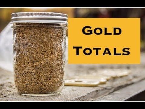 Gold Rush Season 9 Totals so far (2019)
