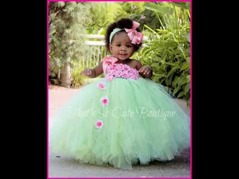 Beautiful Tutu Dresses In Blue Green And Yellow Baby Diva Designs