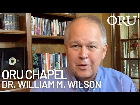 "ORU Chapel 2020: ""Encouragement"" By ORU President William M. Wilson   Apr. 1st, 2020"
