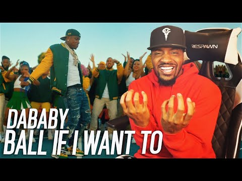 HE MADE A 2 MINUTE SONG THIS FIRE! | DaBaby – BALL IF I WANT TO (REACTION!!!)