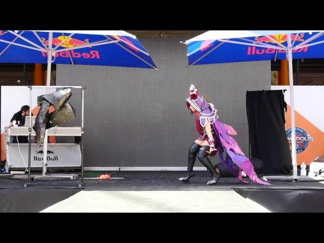 Gamepolis 2017 - concurso cosplay - League of legends (rakan y xayah)