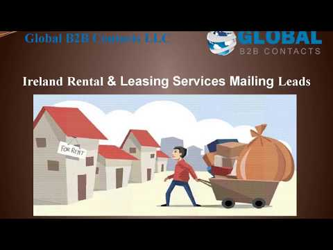 Ireland Rental & Leasing Services Mailing Leads, http://globalb2bcontacts.com