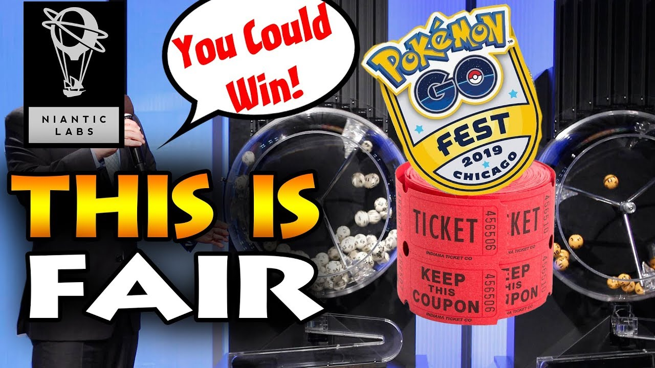 GO FEST 2019 DRAWING SYSTEM HAS GOT ME WORRIED! WILL I BE ABLE TO ATTEND  THIS POKEMON GO EVENT?