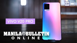 Vivo V20 Pro Android 11 equipped smartphone