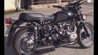 Мой дорожный мотоцикл Днепр. Полный обзор тюнинга и доработок.