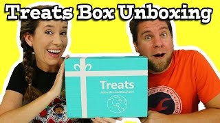 Treats Box Unboxing Snacks And Candy Italy