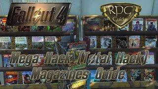 Fallout 4 Guide: Mega-Hack Magazine (3 Ausgaben)