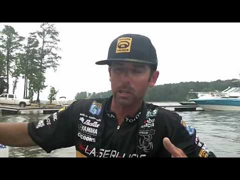 Mike Iaconelli on Clarks Hill Lake