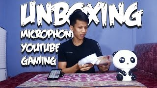 Unboxing Microphone Samson Go Mic, Cocok Buat Youtuber Gaming