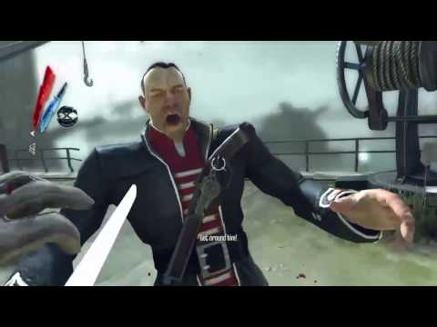 Dishonored The Knife of Dunwall: Mass Kills on Legal district waterfront