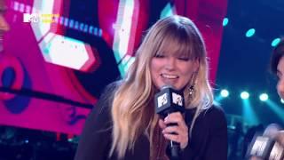 Петр Федоров, Настя Задорожная и Лигалайз на 20-летии MTV (27/09/18)