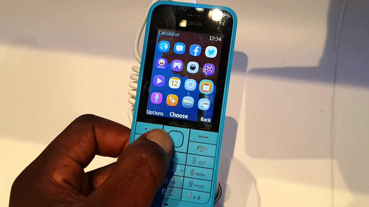 Nokia Asha 220 hands on