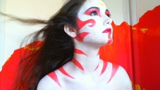 PAINTED LADY AVATAR LAST AIRBENDER MAKEUP