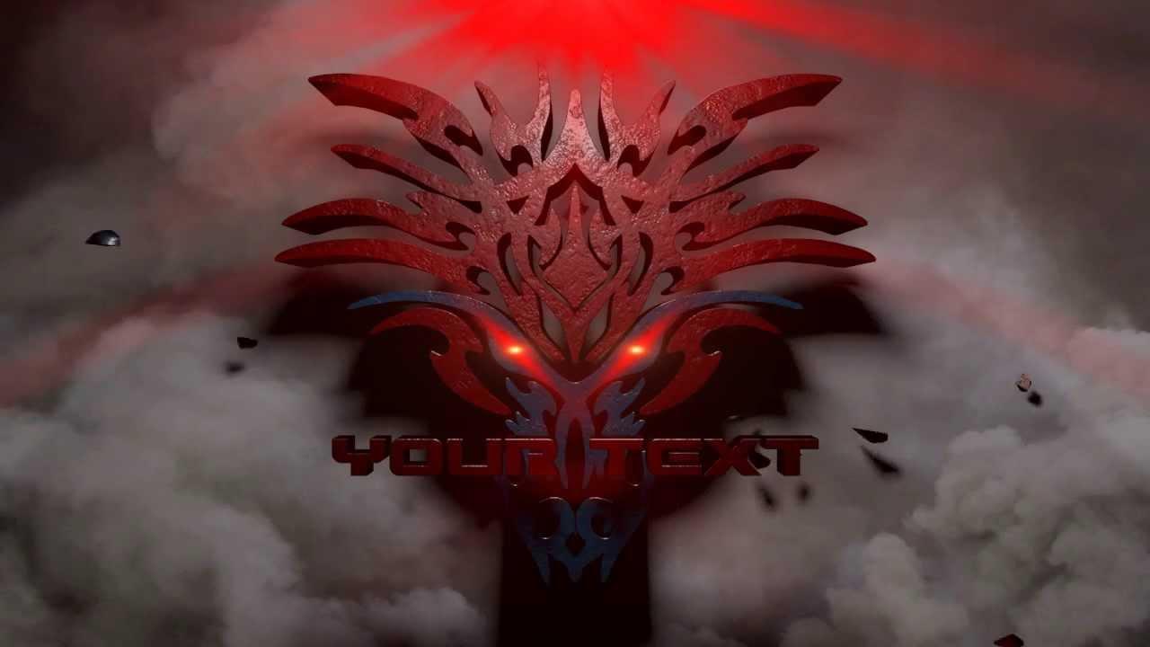 free cinema4d intro template  dragon