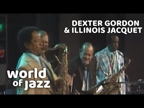 Tenorsax Battle with Dexter Gordon & Illinois Jacquet - Flying Home - 15 July 1979 • World of Jazz