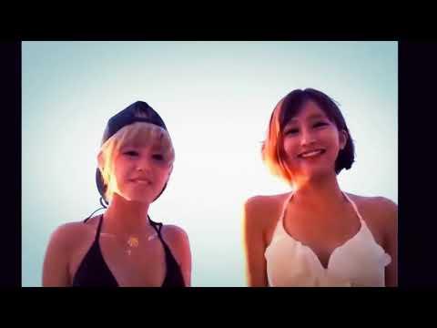 ツイッターで話題!水着の超カワイイ二人mimimiダンス