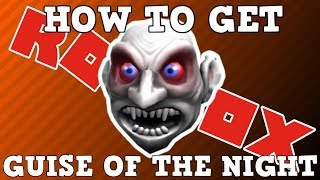 How to Get the Guise of the Night | Roblox Nightmare Before Bloxtober Event