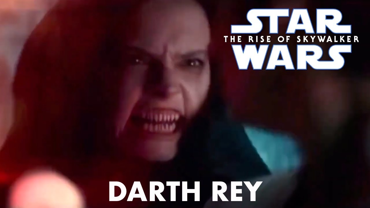 Star Wars The Rise Of Skywalker Darth Rey Full Scene Youtube