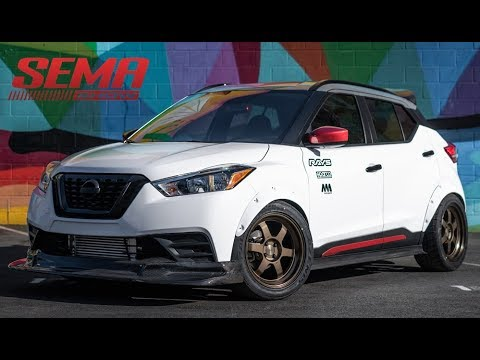 Nissan Kicks Street Sport - SEMA 2019