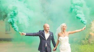 Очень крутой и веселый свадебный клип