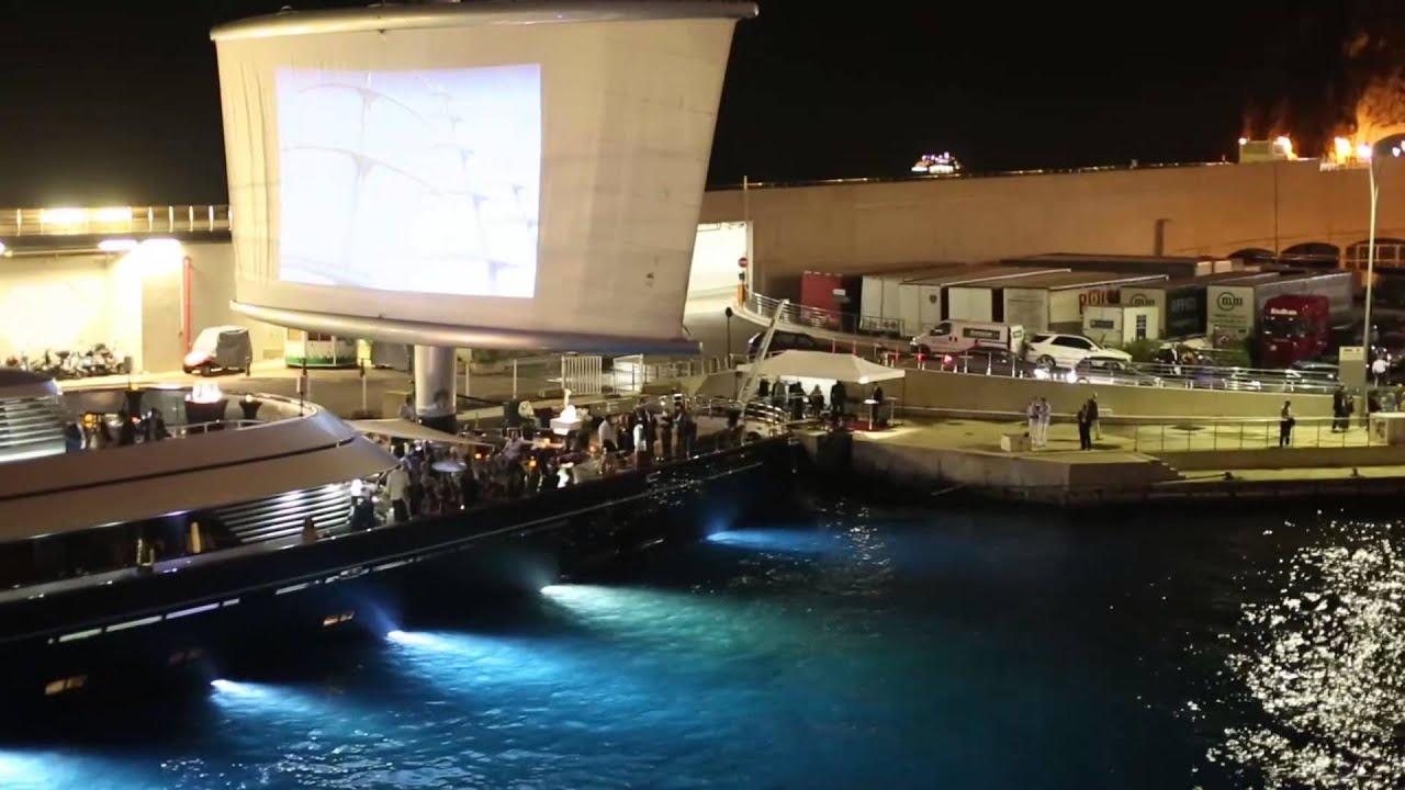 Maltese Falcon At The Monaco Yacht Show September 2013