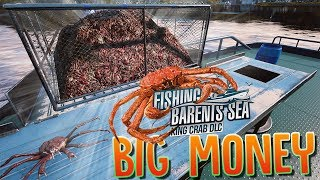 Making 1 Million Dollars A Day King Crab Fishing - New Crab Update! - Fishing Barents Sea