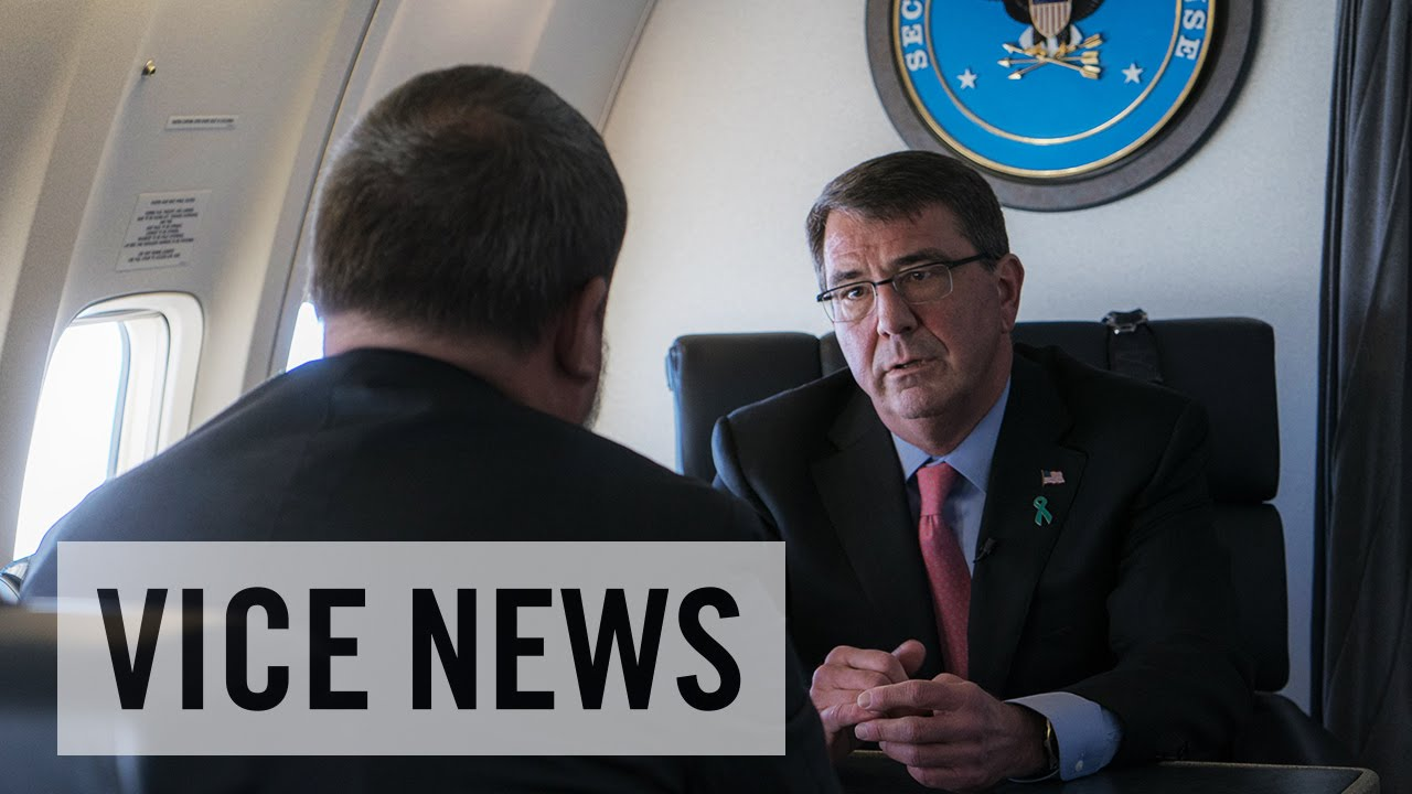 Shane Smith Interviews Ashton Carter: The VICE News Interview (Full Length)
