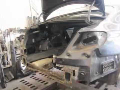 VW CC Rear End Collision Repair YouTube - Volkswagen collision repair