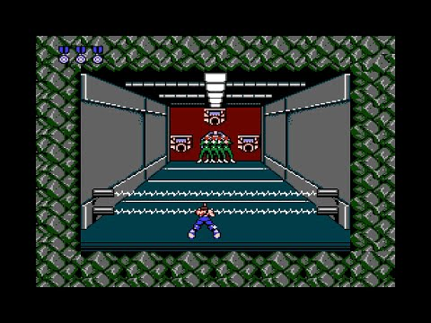 Contra (NES) Stage 2 | Base 1