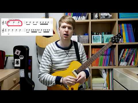 Simple Time 3/4 and Compound Time 6/8 Guitar Lesson