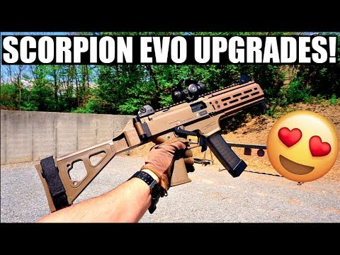 CZ SCORPION EVO UPGRADES!