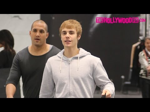 Justin Bieber Goes On A Shopping Spree At YSL In Beverly Hills And Makes Fun Of The Paparazzi