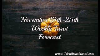 Leo Weekly Tarot Forecast November 19th-25th