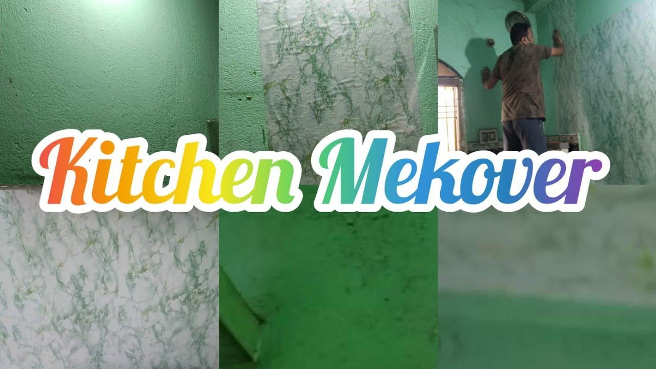 Download Kitchen Makeover||kichen makeover in PVC Wallpaper Diwali ପାଇଁ ଛୋଟ Makeover