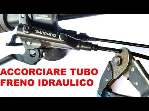 COME ACCORCIARE IL TUBO FRENO SHIMANO IDRAULICO A DISCO