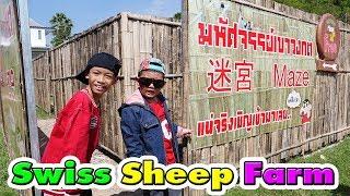น้องติณณ์ | พาเที่ยวฟาร์มแกะEP.2☺ Swiss Sheep Farm