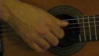 Guitar Lesson #1 Basic samba beat - Right hand