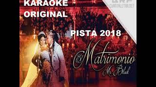 El Matrimonio - Mr Black Karaoke Original