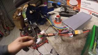 teste moteur hoverboard 36v