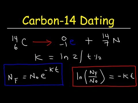 Carbon 14 Dating Problems  - Nuclear Chemistry & Radioactive Decay
