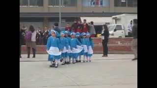 20140913 Matilde bailando El costillar es mío en las Fiestas Patrias en Las Heras del Colegio.