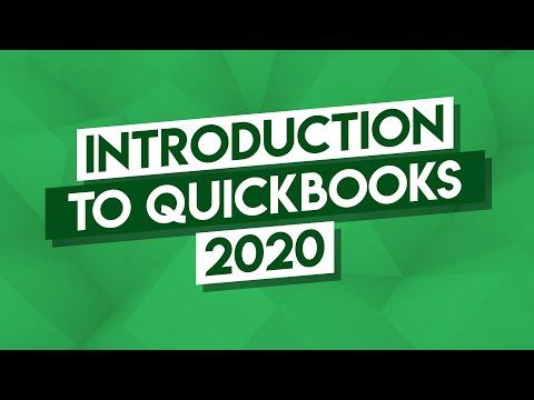 QuickBooks Tutorial: QuickBooks 2020 Course For Beginners (QuickBooks Desktop)