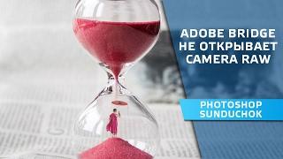 Adobe Bridge не открывает Camera Raw | Решение проблемы в модуле Camera Raw