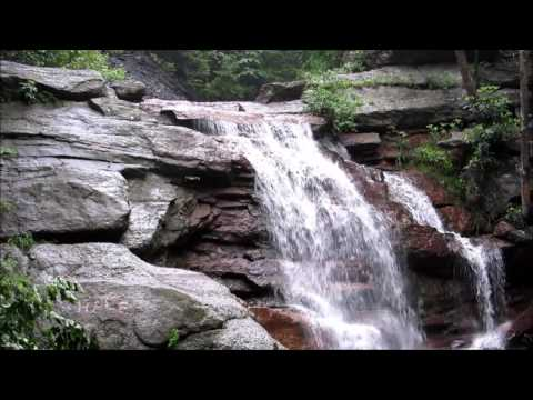 Hiking to the Swatara Falls in Schuylkill county PA