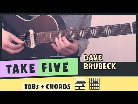 TAKE FIVE ★ Dave Brubeck ★ TABs & Chords