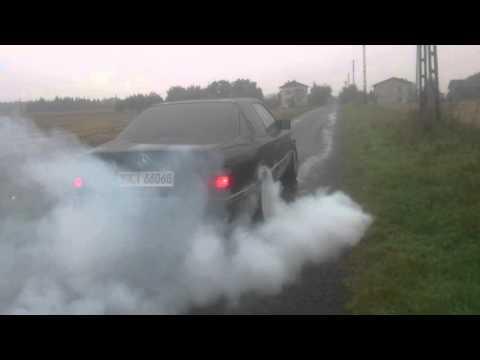 Mercedes Benz C124 sportline E200 (m111) burnout