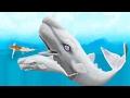 Прохождение Hungry Shark Evolution МОБИ ДИК MOBY DICK ПРОКАЧИВАЮ МОЮ РЫБКУ ДО 10 УРОВНЯ mp3