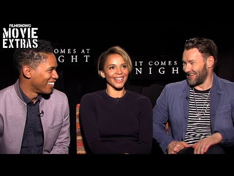 It Comes at Night 2017 Joel Edgerton, Carmen Ejogo & Kelvin Harrison Jr. talk about the movie
